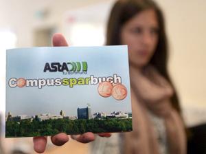 Spartipps für Studenten: Der ASta hat ein Campussparbuch für die Uni Dortmund erstellt. Foto: Daniel Moßbrucker