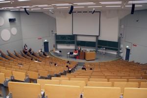 Viele freie Plätze: Nur 19 Germanistik-Studenten kamen am Dienstag zur Fachschaftsvollversammlung.