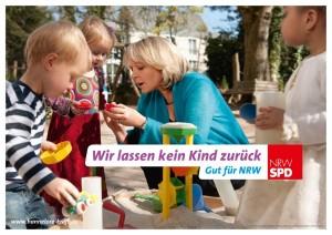 Hartmut Holzmüllers Lieblingsplakat: Hannelore Kraft für die SPD.