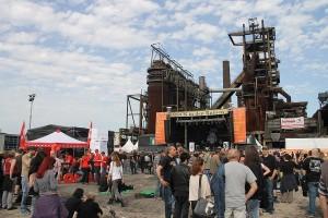 Auf Stimmenfang beim Rockfestival