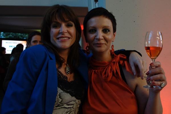 Simone Jones (links) und Suzana Stanojevic (rechts).