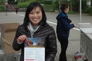Ping Khoo von der Uni in Melbourne kam selbst für einen Auslandsaufenthalt nach Australien und blieb.