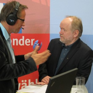 Piraten-Spitzenkandidat Joachim Paul im Interview.