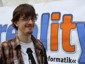 Sascha Kwiatkowski hat schon einige Gespräche mit Unternehmen geführt.