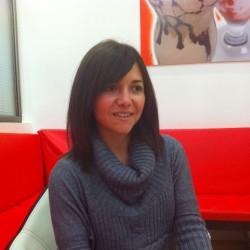 Beatriz ist seit neun Monaten in Deutschland, sie studiert an der TU Dortmund. Foto: A. Sánchez