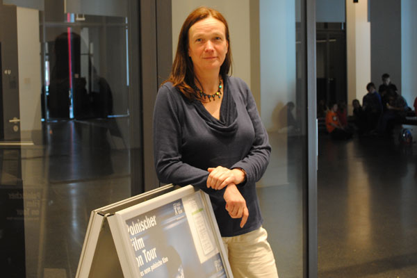 Frau Barbara Fischer-Rittmeyer steht hinter den Konzepten des Dortmunder Us und des Kinos im U. Foto: Anna Dörnemann