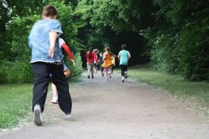 Eine halbe Stunde laufen vor dem Unterricht fördert deutlich die Konzentration.