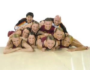 Das Step Team für Deutschland: die Hot Socks, Foto: Lena Sonnenschein
