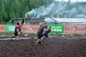 Nach dem Spiel stand die finnische Sauna für Spieler bereit.