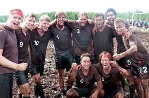 Dieses Team hat im Schlamm für Deutschland gekämpft.