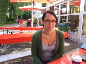 Tanja Hollans möchte als angehende Grundschullehrerin Vorbild sein und geht deshalb wählen.