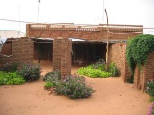 Während ihrer Zeit im Sudan war dies Inga Wilhelms Unterkunft.