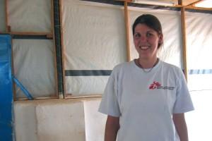 Als Ärztin ohne Grenzen im Sudan: Inga Wilhelms. Fotos: privat