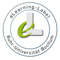 """Das """"eLearning-Label"""" soll Studierenden der RUB auf besonders online-gestützte Kurse hinweisen."""
