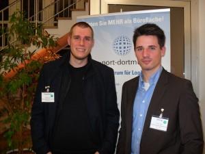 Dennis Przystow (links) und Matthias König haben bereits Anfang zwanzig ihre eigene Firma gegründet.