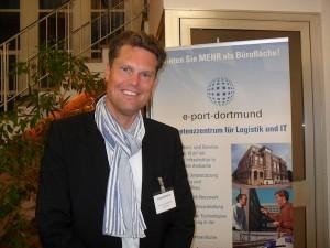 Unternehmer Hans Piechatzek hält das Design des Logos einer Firma für besonders wichtig.