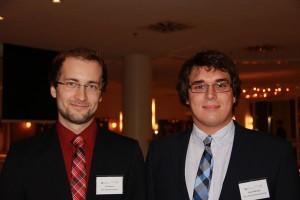 Jan Kossuch und Simon Wißmann - zwei von 24 neuen CoE-Mitgliedern