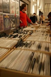 Valentin ist auf jeder Schallplatten-Börse präsent.
