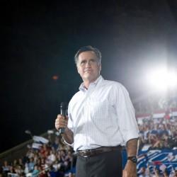 Romney im Wahlkampf Rechte: katherinecresto/flickr.com