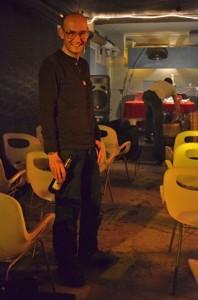 Wolfgang Kienast ist besser bekannt als DJ Martini, Foto: Nele Posthausen