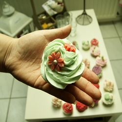 Cupcakes zum Einseifen