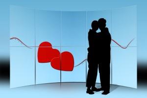 Flirts und Affäre sind keine Seltenheit in deutschen Büros. Foto und Teaserbild: pixelio/Gerd Altmann