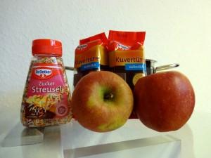 Schokoäpfel selber machen