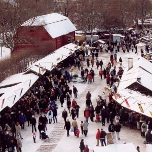Skansen Weihnachtsmarkt Foto: Skansen