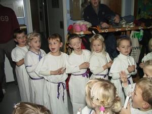 Von Schweden nach Dänemark importiert: Das Luciafest. Foto: Kim Eriksen.