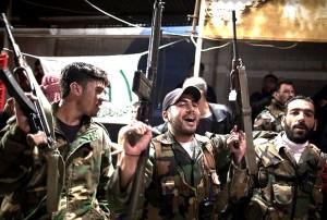 """""""Es gibt nicht die Aufständischen"""" - Rebellen der Freien Syrischen Armee. Foto: FreedomHouse2/flickr.com"""
