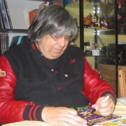 Comiczeichner der Simpsons: Phil Ortiz