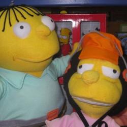Otto und Ralph aus der Serie The Simpsons / Foto: Monika Kophal