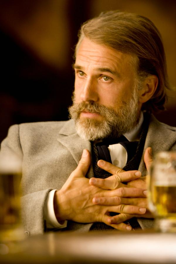 """Christop Waltz war auch schon in Tarantions letzten Film """"Inglourious Basterds"""" zu sehen."""