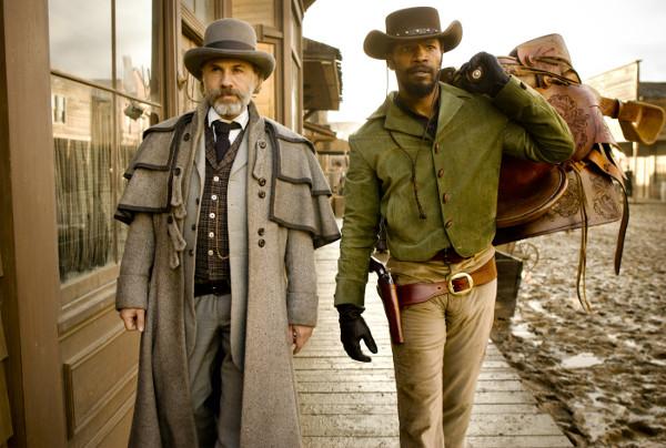 Ein ungleiches Paar: Django und Dr. King Schultz. (Teaser und Bilder: Sony Pictures)