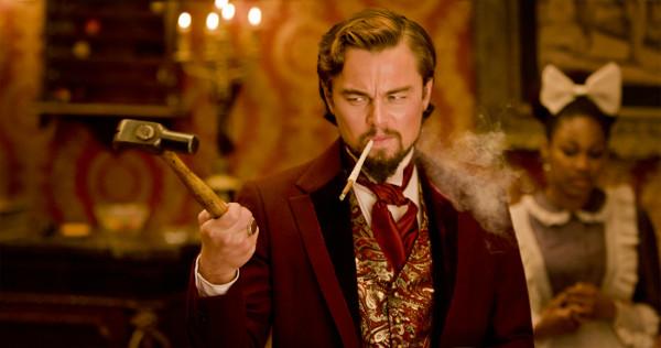Leonardo DiCaprio als narzisstischer und übermäßig von sich überzeugter Calvin Candies.