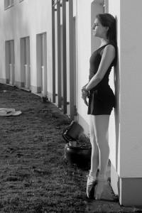 Das Ballett fordert von Sara viel Disziplin. Foto: Pauline Piers