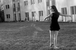 Während ihres Erasmus-Semesters an der TU trainiert Sara weiterhin regelmäßig. Foto: Pauline Piers