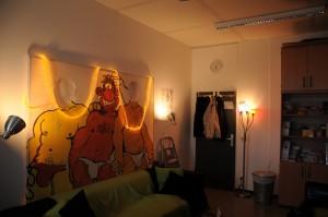 Der Raum des Autonomen Schwulenreferat im EF 50. (Foto: David Freches)