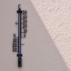 Wetter: Entweder viel zu heiß ... (Foto: Kurt Michel/pixelio.de)