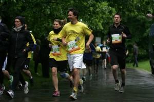 Startschuss beim 11. Bochumer Uni-Run (Foto: Moßbrucker)