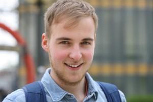 "Jonas Pantzer: ""Man muss heute viel vorsorgen."" Foto: Markus Bergmann"