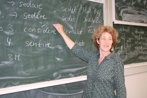 Konjugationen und Deklinationen - Grammatik ist das A und O. Foto: Franziska Jünger