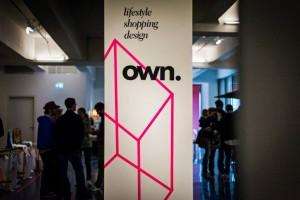 """Das Logo des """"Own.""""-Lifestylemarkts."""