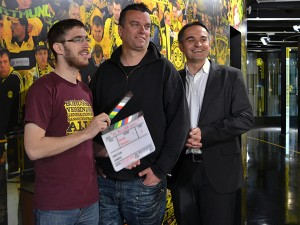 Die drei Initiatoren: Jan-Henrik Gruszecki, Marc Quambusch und Gregor Schnittker (v.l.n.r.)