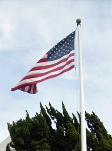 Amerikanische Flagge. Foto: Tüch