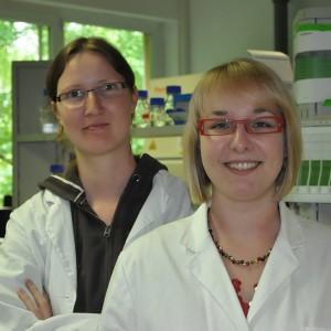 Julia Sisnaiske und Heike Hardelauf