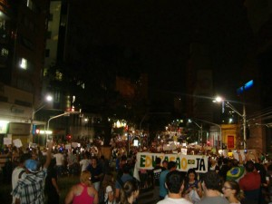 Die Proteste thematisieren vor allem soziale Probleme im Land. Foto: Wer?