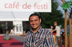 Rico Costarica hat das Festi Ramazan gemeinsam mit neun Männern aufgebaut.