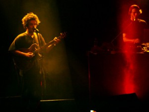 Milky Chance beim Konzert am 12.09.2013 in der Zeche in Bochum. Foto: Saskia Gerhard/Teaserbild: Saskia Gerhard