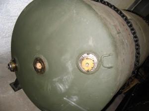 1800 kg wiegt die britische Luftmine des Typs HC 4000, die am Sonntag in Dortmund-Hombruch entschärft wird.